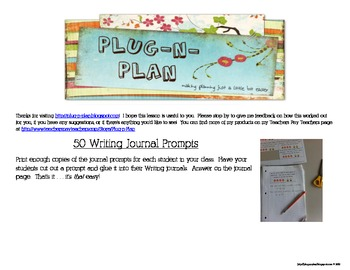 50 Writing Prompts to Get Them Thinking
