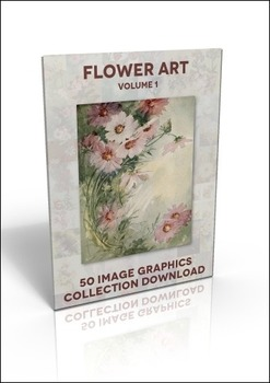 50 beautiful Flower illustrations to use for anything at all!