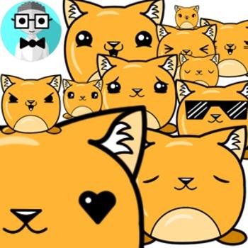 50 cute cat [Emotions Pack]
