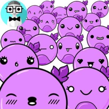 50 cute circles [Emotions Pack]