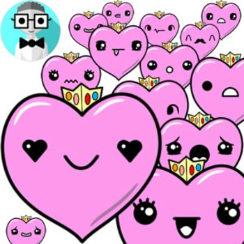 50 cute hearts [Emotions Pack]