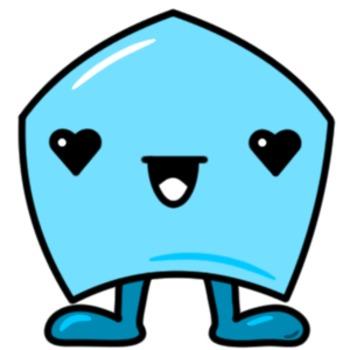 50 cute pentagons [Emotions Pack]