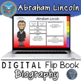 Abraham Lincoln Digital Biography Template