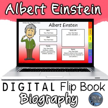 Albert Einstein Digital Biography Template