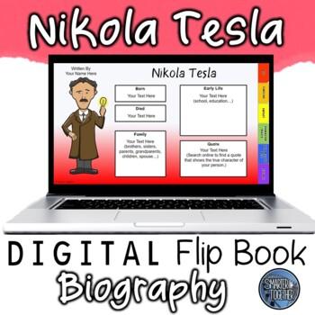 Nikola Tesla Digital Biography Template