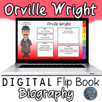 Orville Wright Digital Biography Template