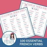 100 verbes essentiels en français - 100 essential French verbs