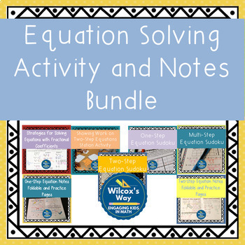 Equation Solving Bundle