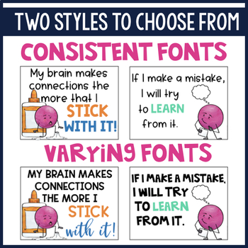 Growth Mindset Classroom Posters