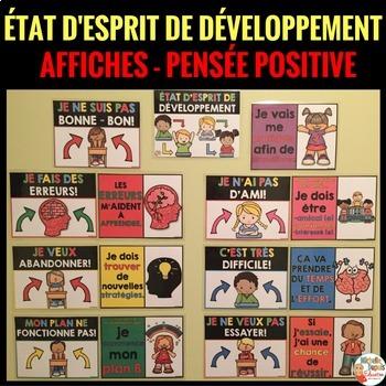 ÉTAT D'ESPRIT DE DÉVELOPPEMENT - Growth mindset in French