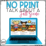 No Print Fall Talk About a Scene