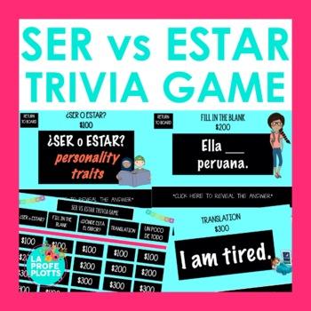 SER vs. ESTAR Jeopardy-Style Trivia Game