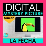 Spanish Days, Months, and Date Digital Mystery Picture   L