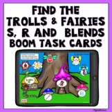 Boom Cards Trolls and Fairies S, R and blends Articulation