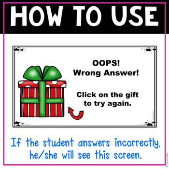 Christmas Digital Interactive Game for Factors
