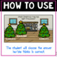 Christmas Digital Interactive Game for Place Value