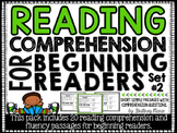 Reading Comprehension Passages for Beginning Readers Set 2