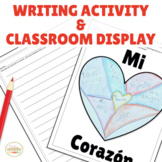 Valentine's Day Writing Activity Craft & Classroom Display