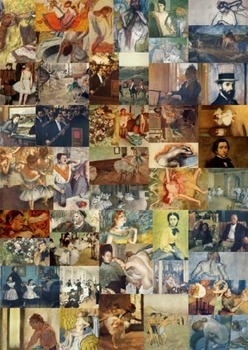 50 lovely Degas pictures to use for anything at all!