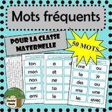 50 mots fréquents pour la classe maternelle (French sight words Kindergarten)