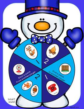 Winter Snowman Articulation and Language Game