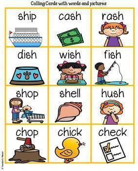 Phonics Bingo - Digraphs