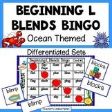 Phonics Bingo - Beginning L Blends