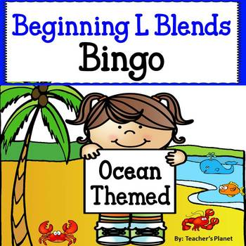 Phonics Bingo - Beginning L Blends