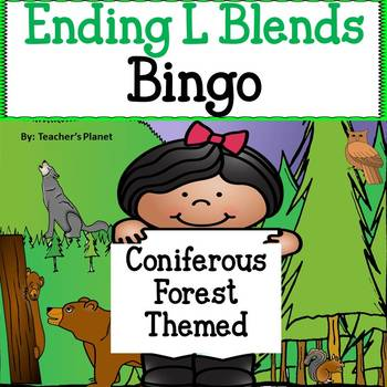 Phonics Bingo - Ending L Blends