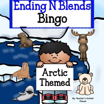Phonics Bingo - Ending N Blends