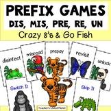 Prefix Games - Beginner Prefix Crazy 8's and Go Fish