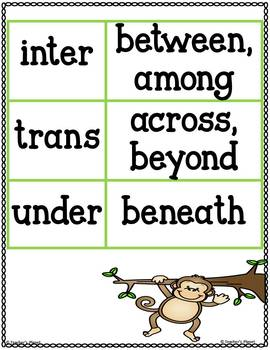 Prefix Games - Fill it Up - Inter, Trans, Under
