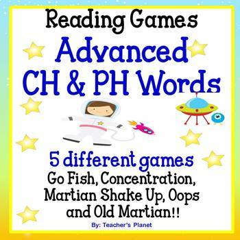 Reading Games - Advanced CH & PH words