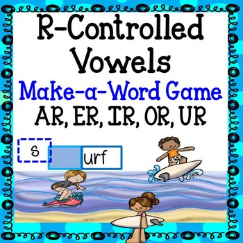 Reading Games - R-Controlled Vowels