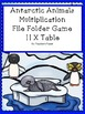 Multiplication Games - File Folder Animal Habitats Bundle!