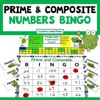 Prime and Composite Games - Bingo!