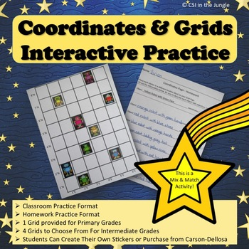 Coordinates and Grids - Interactive Practice and Homework