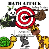 Math Attack - Mystery Number - Animal Edition