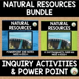 Natural Resource:  Activities and PowerPoint Bundle
