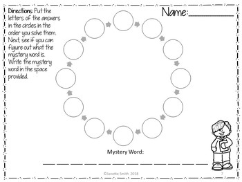 Add and Subtract Unlike Fractions Scavenger Hunt Puzzle