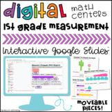 1st Grade Non-standard Measurement 1.MD.1 & 1.MD.2 Digital