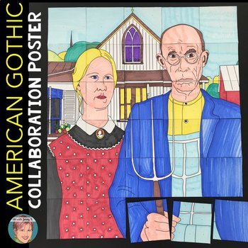 American Gothic Collaboration Poster