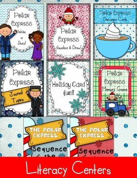 Polar Express MEGA BUNDLE Celebration! Reading & Writing Christmas FUN