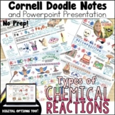Chemical Reactions Cornell Doodle Notes and Powerpoint