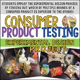 Experimental Design Consumer Product Testing Project