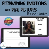 Identifying Emotions with Real Pictures Boom Cards™