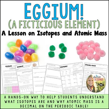 Average atomic mass teaching resources teachers pay teachers isotopes and atomic mass activity eggium urtaz Gallery