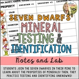 Mineral Identification : Properties Notes and Lab