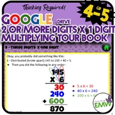 Google Ready Multiply by One Digit Whole Numbers Self Pace