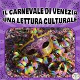 Il Carnevale di Venezia  - Una Lettura Culturale